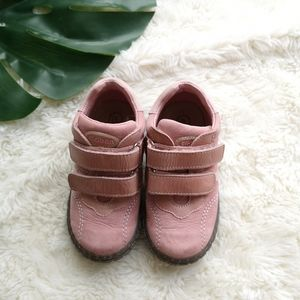Toddler girls leather shoes